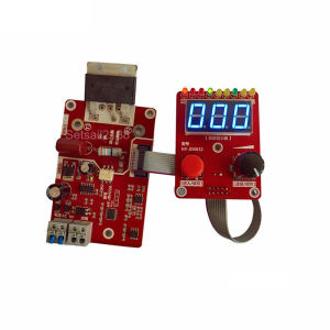 NY-D02 100A 40A Double Pulse Encoder Spot welder Welding Machine Time Current Controller Control Panel Board