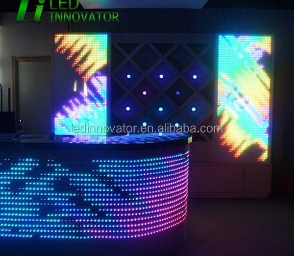 dmx equalizer led panel for club wall decoration