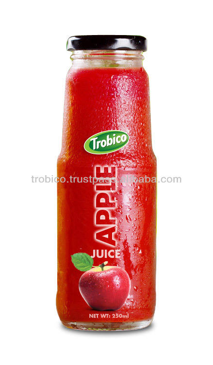 250 мл стеклянная бутылка яблочный сок