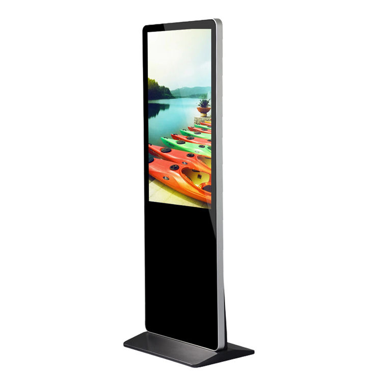 lcd tv kiosk 32Inch touch screen display floor standing lcd advertising player touch all in one indoor digital signage
