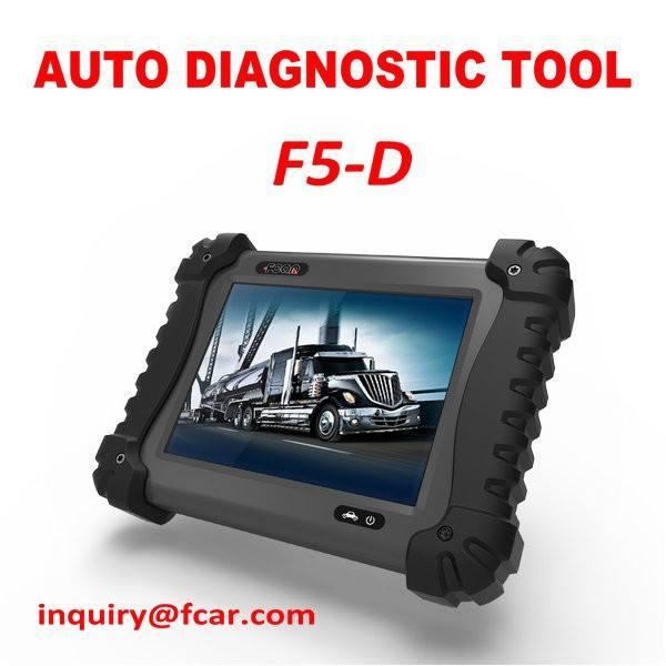 Fcar f5-d thiết bị chẩn đoán xe tải cho xe tải hạng nặng chẩn đoán sửa chữa, người đàn ông, tata, Mahindra, toyota, bosch