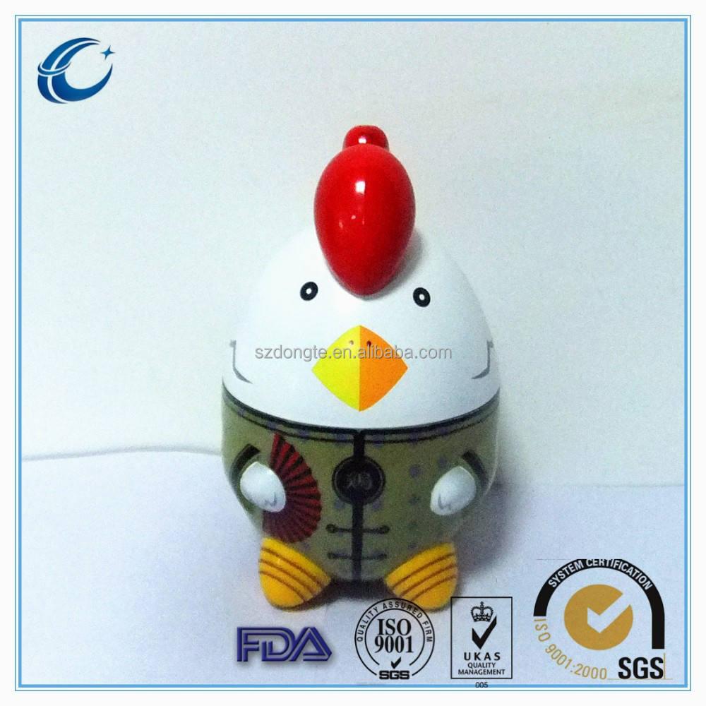 fornitore porcellana regali promozionali zodiaco cinese di pollo caramella vaso