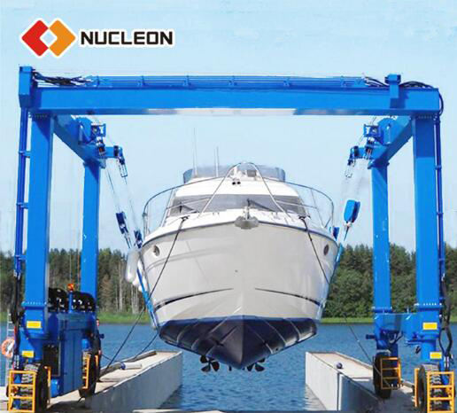 China suppliers 50/60/100ton marine travel boat lift gantry Indonesia price