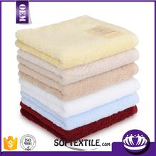 Cheap wholesale 100% cotton colorful towel stock lot