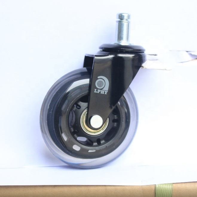 2 inch/2.5 inch/3 inch office chair casters wheels without/with brake