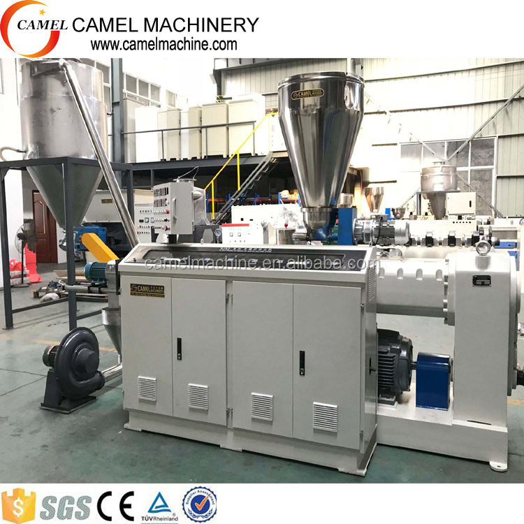 PVC pellets plastic recycling granulate granulator production line making machine