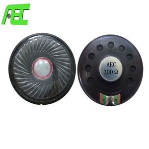 2 inch Mylar speaker driver unit 50mm 50ohm audio speaker