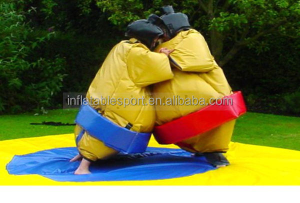 hot sale inflatable sumo suits for sale/fighting sumo suits/inflatable sumo product