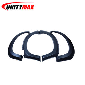 ABS Fender Flare for Isuzu Dmax 4x4 off road body parts with textured finish ABS material black color car fender