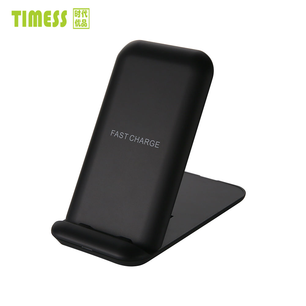 new 2019 trending product Fast Charging Qi Wireless Phone Charger Stand For iPhone 8 X samsung and All Mobile Phones