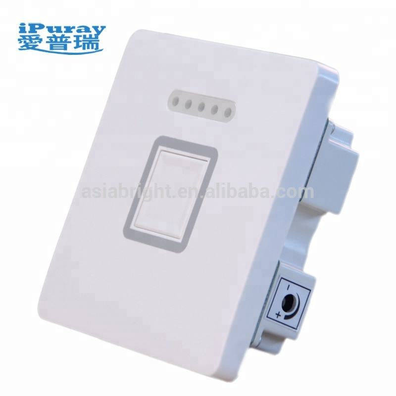 240V Dimmer interruptor regulador de luz LED touch pad interruptor 150W