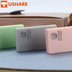 Chinese rubber factory Latest New Upgrade office stationery kawaii soft color Fine art children drawing Eraser
