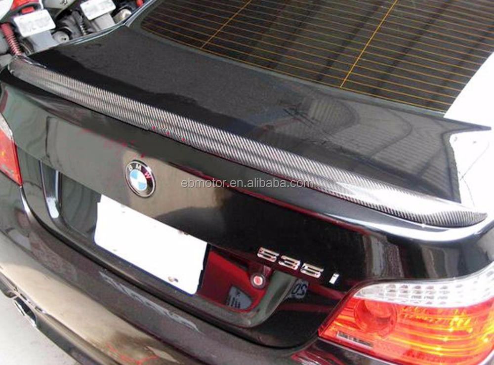 Carbon Fiber BMW E60 M5 Trunk Spoiler Wing 520i 535i 545i 528 550 M5 04-10