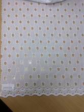 100% Cotton embroidery with holes