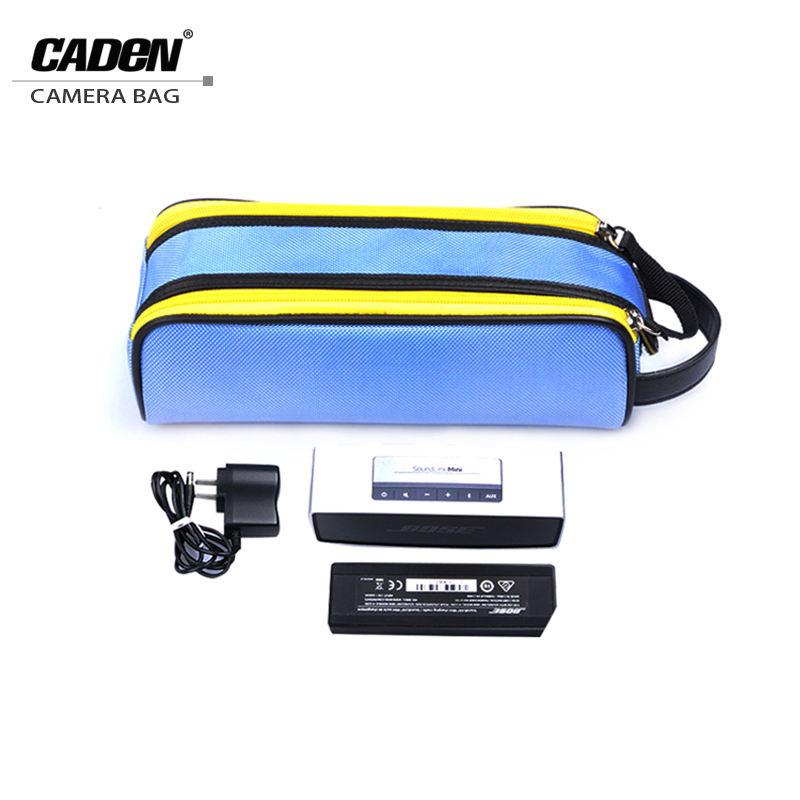 Caden <span class=keywords><strong>Batteria</strong></span> Flash <span class=keywords><strong>di</strong></span> Luce lente del sacchetto Per <span class=keywords><strong>Canon</strong></span> Nikon e altri camera lens case & bag