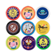 Promotional custom plastic tokens coin with print