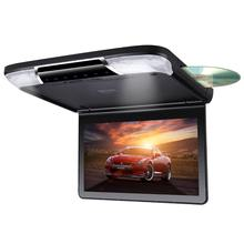 11.6'' dvd player roof mount flip down car monitor