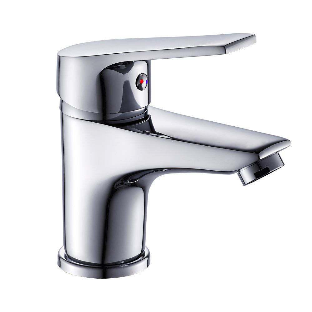 B0005-F Fashion zinc alloy single handle brass faucet tap basin faucet