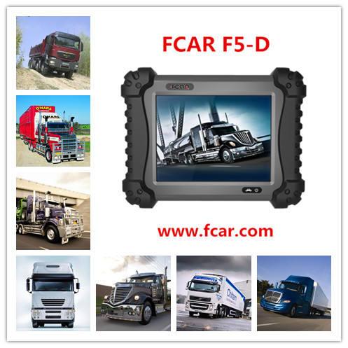 Direto da fábrica Super qualidade FCAR F5-D automotive heavy duty diagnosticar ferramentas F5 G equipamentos de digitalização