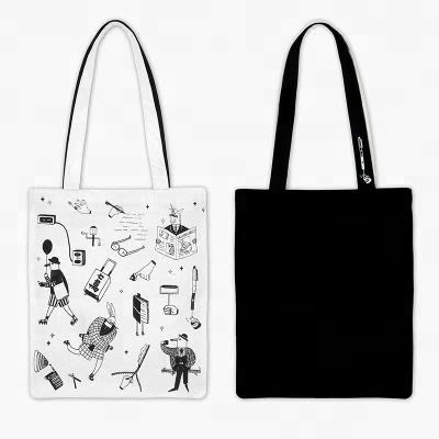New Fashion Customizable Shopping Souvenir Cotton Tote Bag