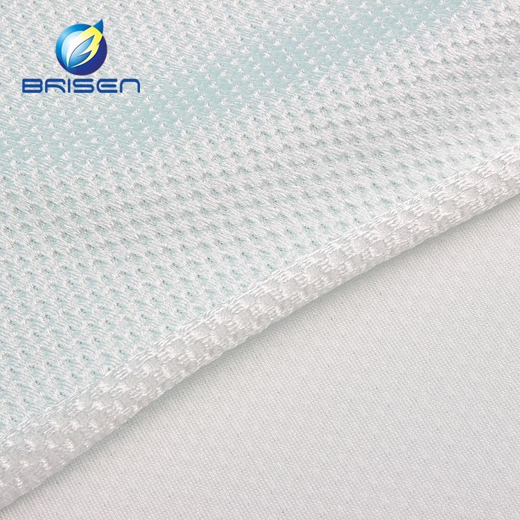 White Thick Customized 86 polyester 14 spandex sew fabrics