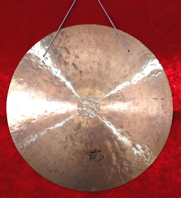 Chinese messing hand gong 80 cm musiktherapie montiert gongs