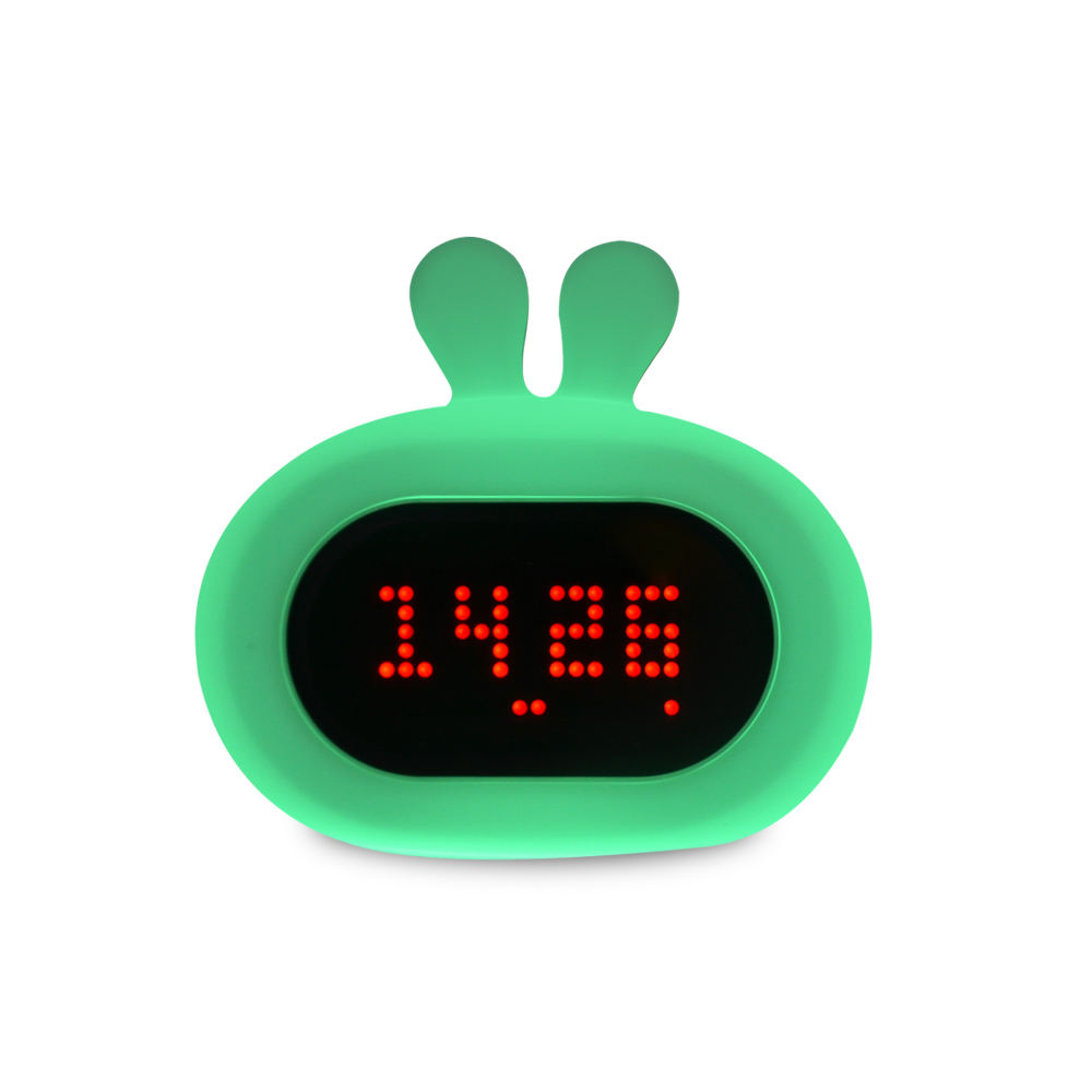 Creative Gift usb Charging Mini Travel 실리콘 Alarm Clock 대 한 Kids