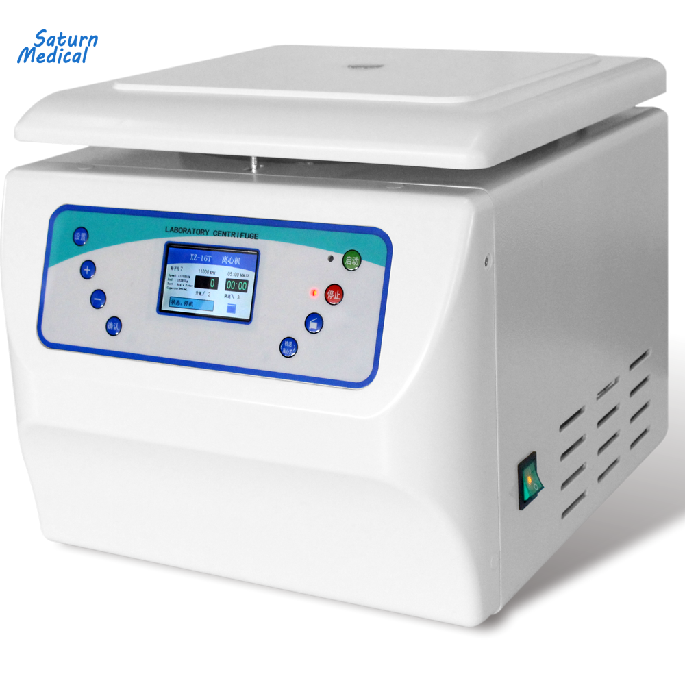 Lab Tabletop LCD color screen high speed centrifuge machine