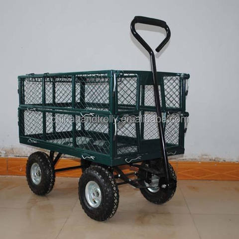 China Qingdao custom all color choose popular TC1840 garden tool cart whole sale in Pakistan