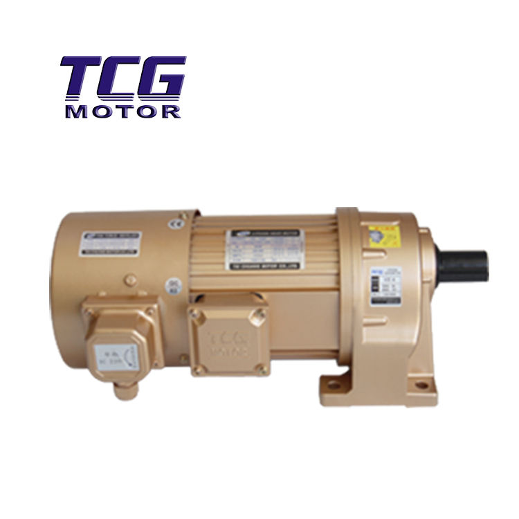 Geared Motor Horizontal , AC synchronous electric motor with IEC head, Y series