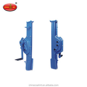 manual rail mechanical track jack
