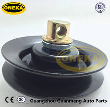 [ONEKA] Engine parts 0K01115930A / Belt Drive Idler Pulley R23015940 89032087 for Mazda 929 / MPV / B2600 2.6L L4 ( 3.0L V6 )