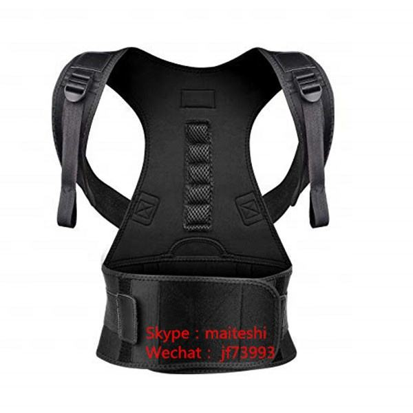 Best Neoprene Adjustable Posture Corrector Shoulder Back Support Brace