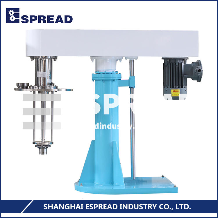 Multi-specification Available ESSY Series Batch Hydraulic Lifting High Shearing Mixing Disperser Homogenizer Emulsifying Machine