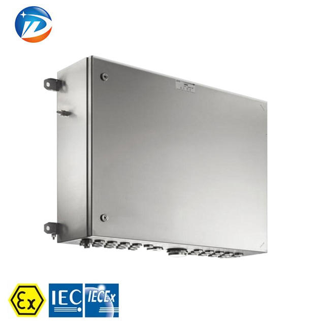 Customized IP66 stainless steel EJE-S C Series explosion proof control station and Junction box with CNEx ATEx IECEx certificate