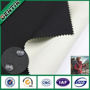 500D * 500D oxford de nylon transpirable impermeable membrana de ptfe laminado tela de oxford