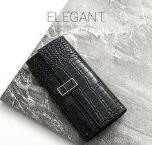 Fashional Women Wallet Lady Long Wallets Purse Alligator clutch wallet