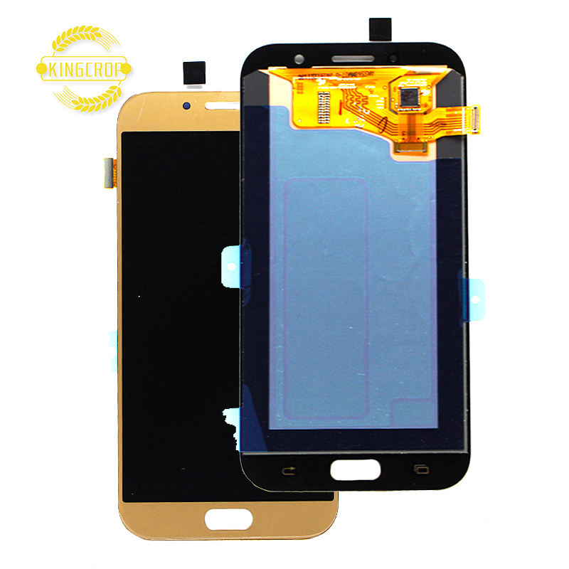 100% Migliore qualità LCD Per Samsung Galaxy A7 2017 A720 A720F SM-A720F Display LCD Touch Screen Digitizer