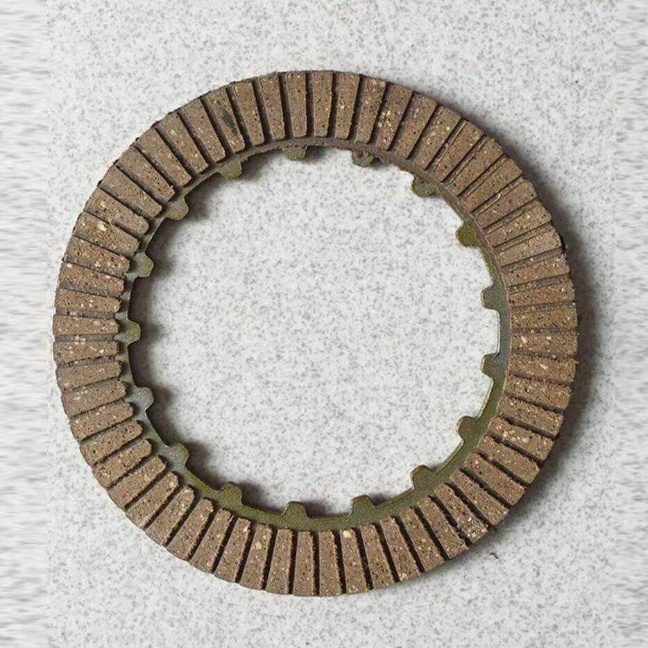 Brown color friction plate type Motorcycle CD70 clutch plate