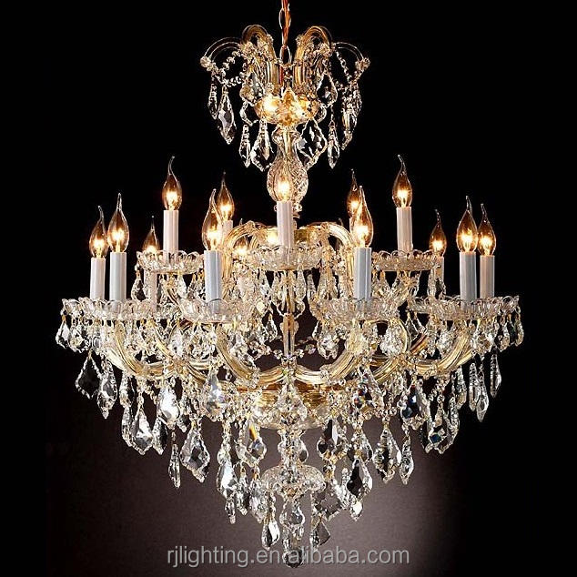 100cm Diameter Austrian maria theresa Chinese k9 Egyptian Asfour crystal chandelier lamparas led China