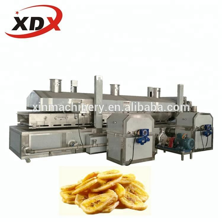 Rich chips maschine banana chips produktionslinie