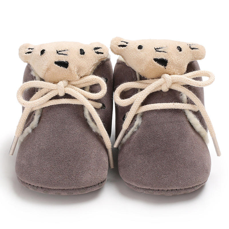 Wholesale Prewalker Soft Suede Baby Booties In Bulk Baby Shoes Infant Boots