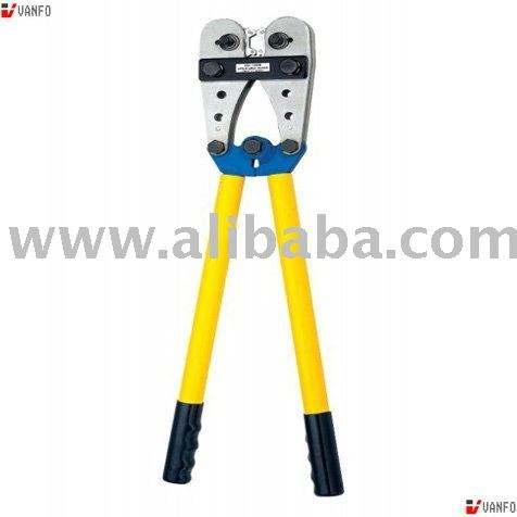 Cable Plier 620mm Terminal Hand Crimper Cu//al Ratchet Crimping Battery Tool Lug