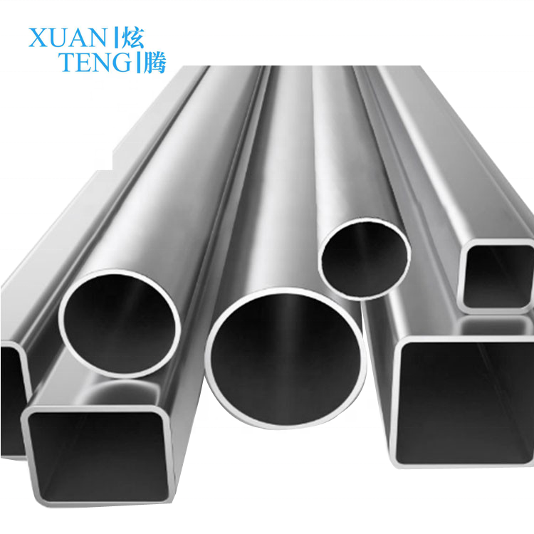 6063 6061 7005 7075 anodized 15mm 25mm 50mm aluminium pipe for railing handrail