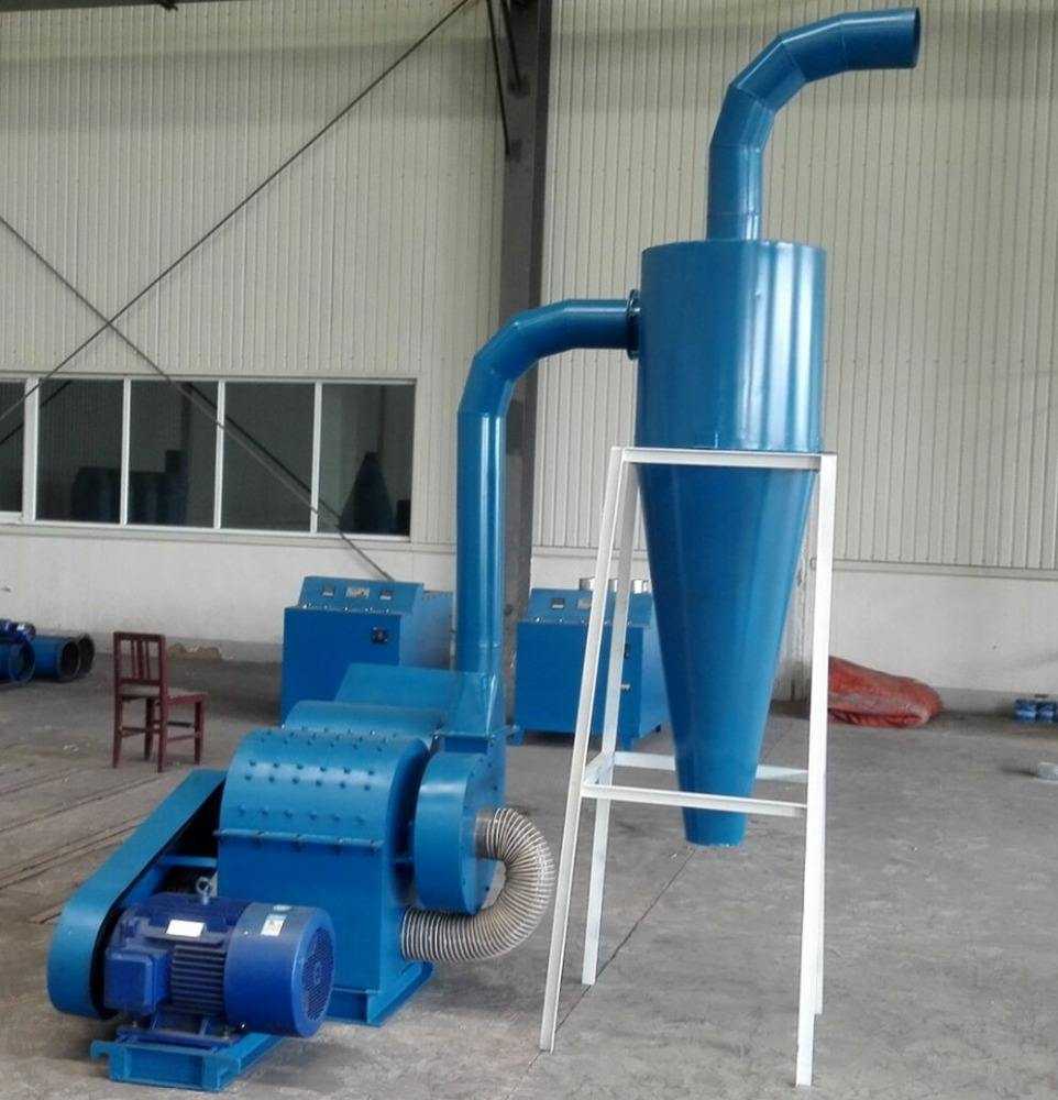 Factory supply coconut shell charcoal crusher machine/wood hammer mill price