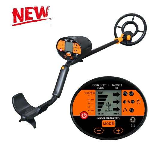 Underground Metal Detector MD-3060 Gold Silver Treasure Hunter Seeker Portable Hunter Detector Metal Detector MD3060