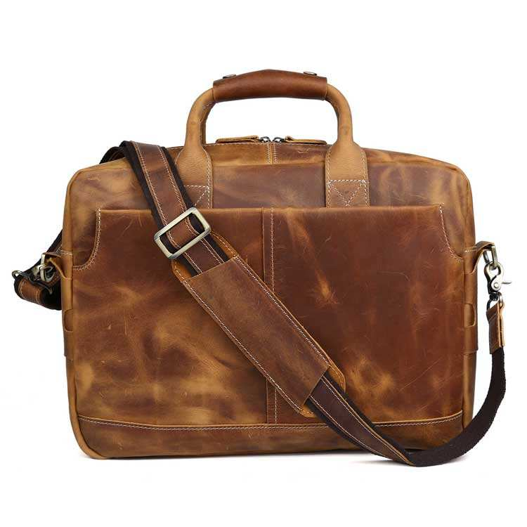 Tiding 정품 소 Shoulder Bags 제 Leather Laptop Briefcase