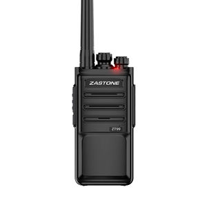 Barato way radio walkie talkie ZASTONE 2 ZT-99 3-5 KM UHF 400-470 MHz canais 16