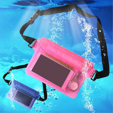 Wholesale PVC Waterproof Phone Bag For iPad, Water Proof Mobile Phone Waterproof Pouch Fit For Smartphone