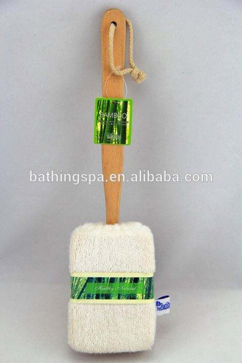 Hot selling bamboo handle back brush
